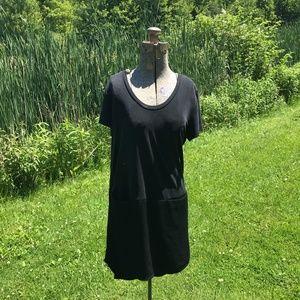 Dolan Anthro Black Pocket Dress